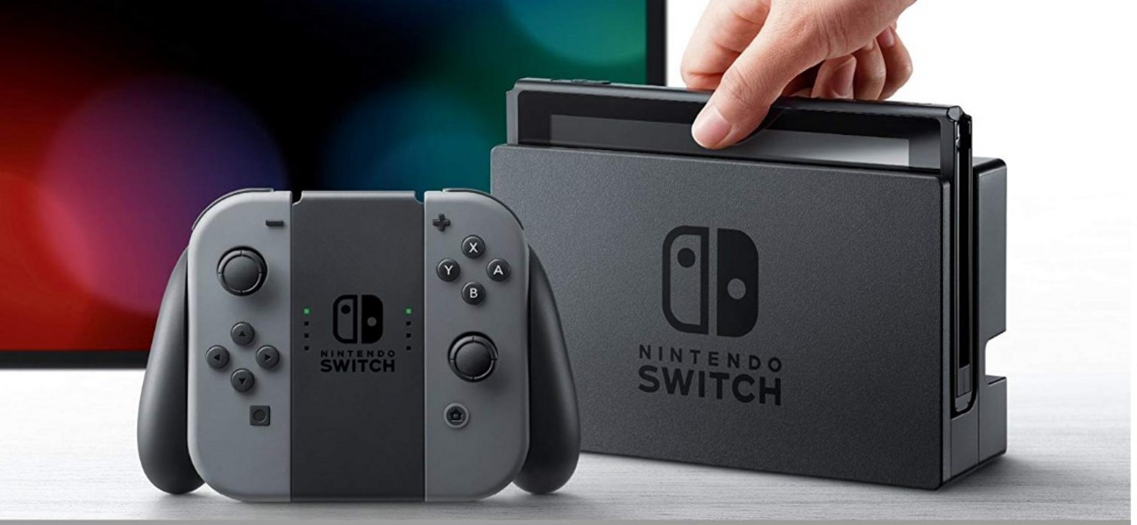 Nintendo Switch Console V2 - grey [NSW] (D/F/I)