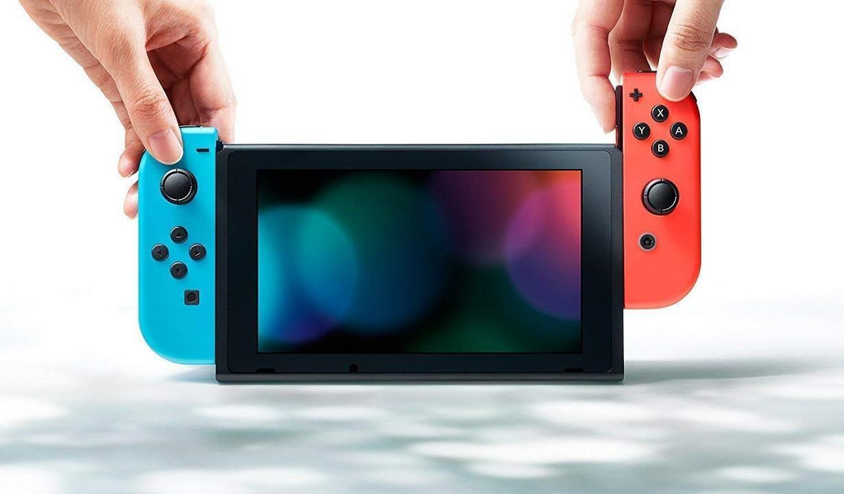 Nintendo Switch Console V2 - neon-rot/neon-blau [NSW] (D/F/I)