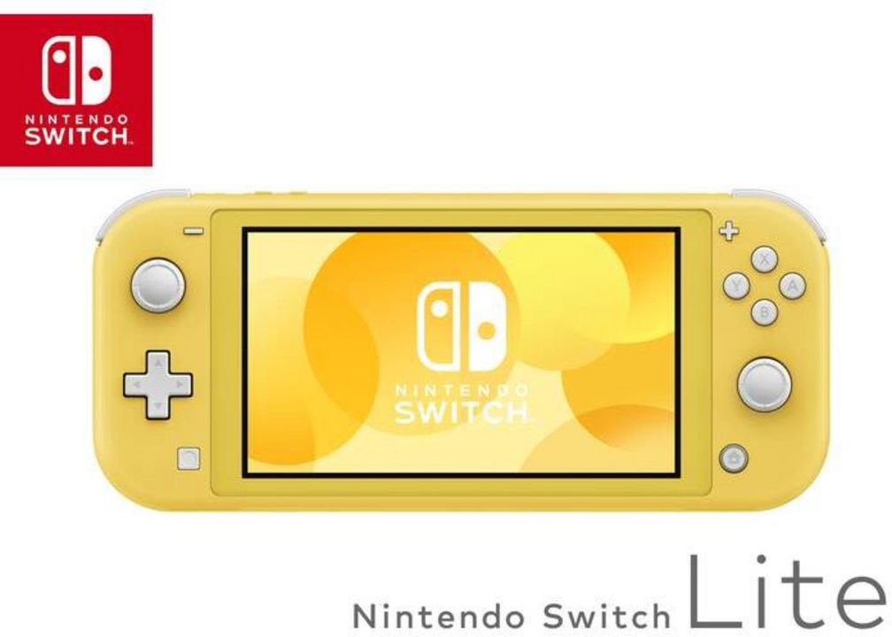 Nintendo Switch Lite Console - yellow [NSW Lite] (D/F/I)