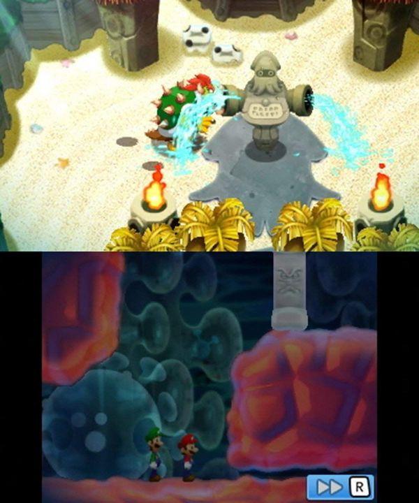 Mario & Luigi: Abenteuer Bowser + Bowser Jr.s Reise [3DS] (D)