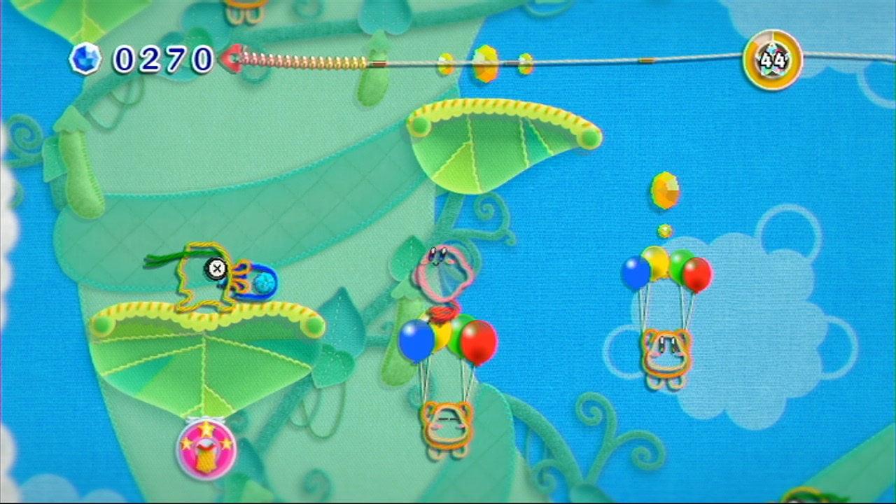 Kirby und das extra magische Garn [3DS] (D)