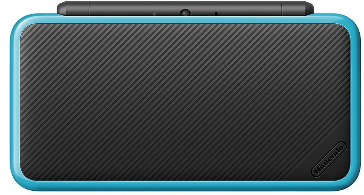 New 2DS XL Console - black-turquoise [New 2DS XL] (D/F)