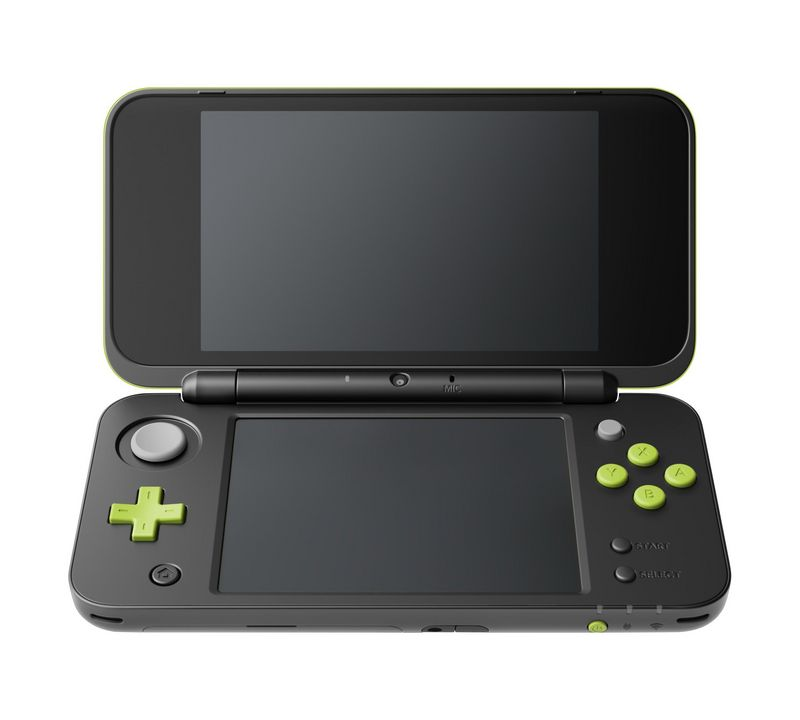 New 2DS XL Console - black/green + Mario Kart 7 [New 2DS XL] (D/F)
