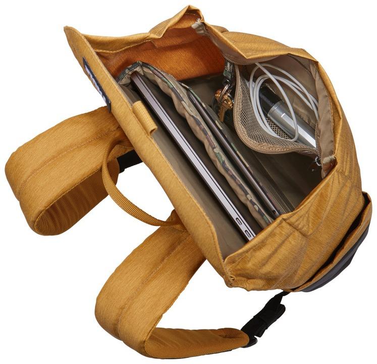 Thule Lithos Backpack [15 inch] 16L - woodthrush/black
