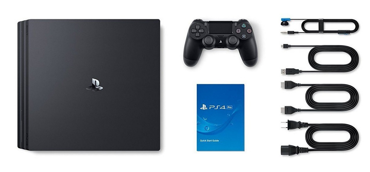 Sony PlayStation 4 Console PRO 1TB - black [PS4] (D/F/I)