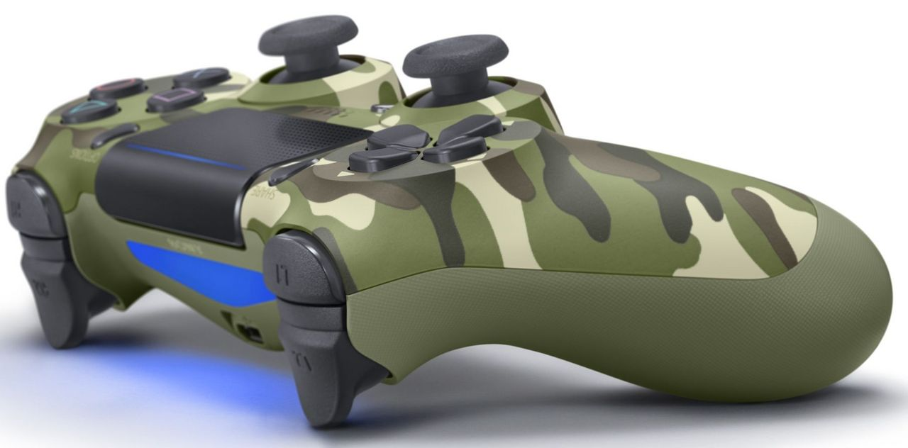 Dualshock 4 Wireless Controller - green camouflage [PS4]