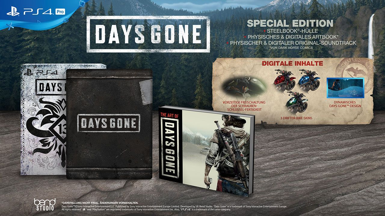 Days Gone - Special Edition [PS4] (D/F/I)