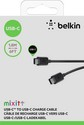 MIXIT USB-C to USB-C Charge Cable, 1.8m - black