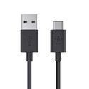 MIXIT USB-C to USB-A Charge Cable, 3m - black