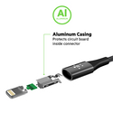 MIXIT Premium DuraTek USB-C to USB-C Cable, 1.2m - rose gold