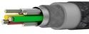 MIXIT Premium DuraTek USB-C to USB-A Cable, 1.2m - rose gold