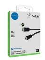 Belkin Thunderbolt 3 Cable [USB-C, 40Gbps, 100W, 5K] 0.8m - black