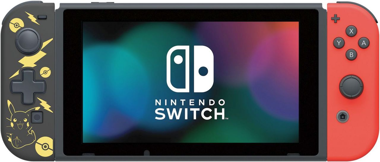 Nintendo Switch - D Pad [Pikachu Black + Gold Edition] [NSW]