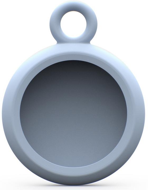 UAG [U] Dot Holder for Apple AirTag with Keychain - soft blue
