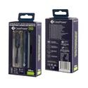 CasePower 2600mAh Portable Battery w/ ClickToGo microUSB Cable - deep-blue