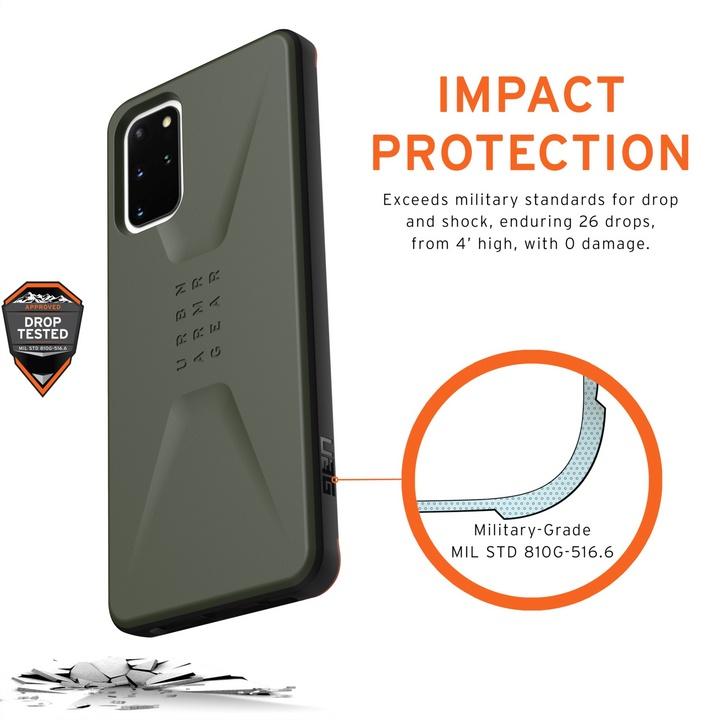 UAG Civilian Case - Samsung Galaxy S20+ - olive drab