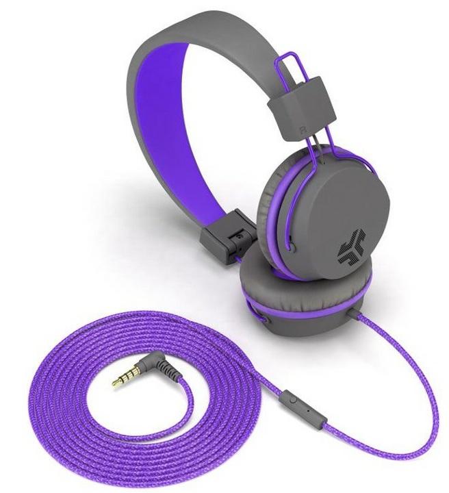 JLab JBuddies Studio Kids Headphones -purple
