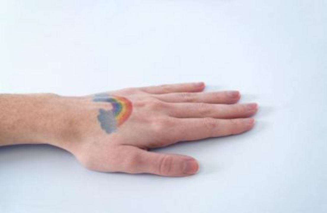 Silhouette bedruckbares Tattoo Papier