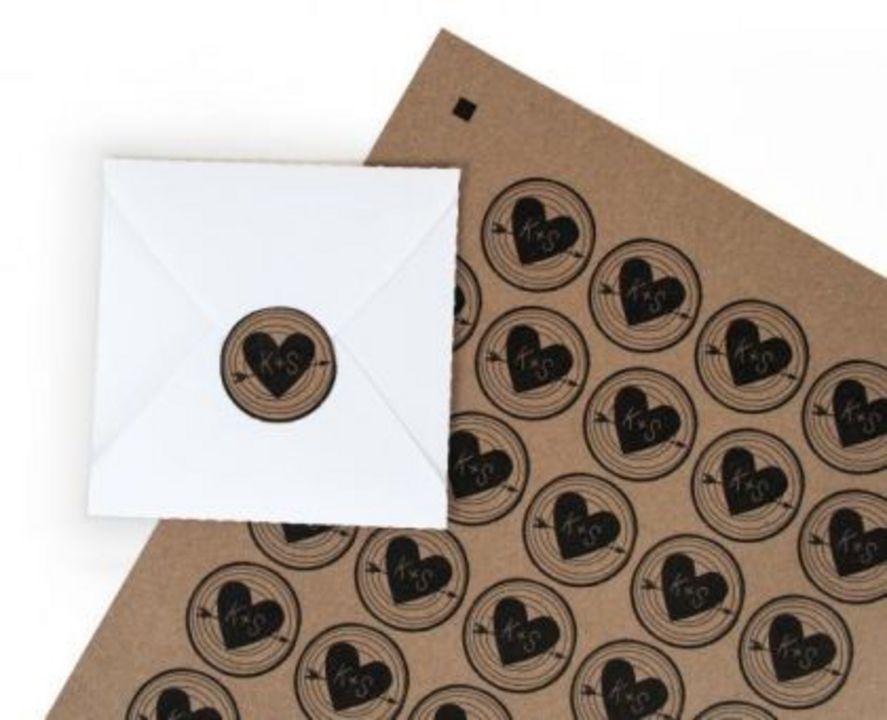 Silhouette bedruckbares Kraftpapier selbstklebend