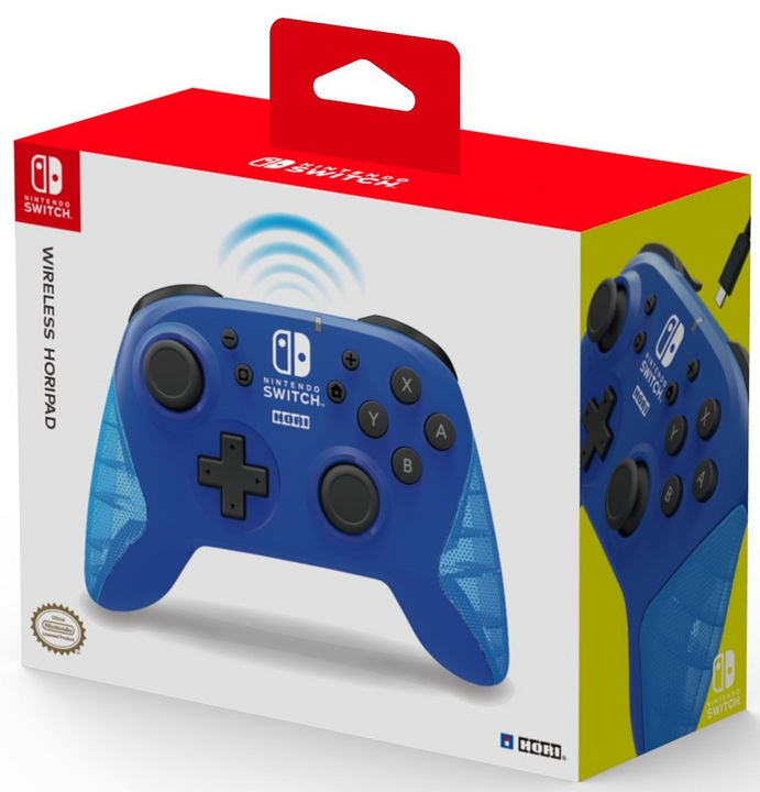 Nintendo Switch - Wireless Horipad Controller - blue [NSW]