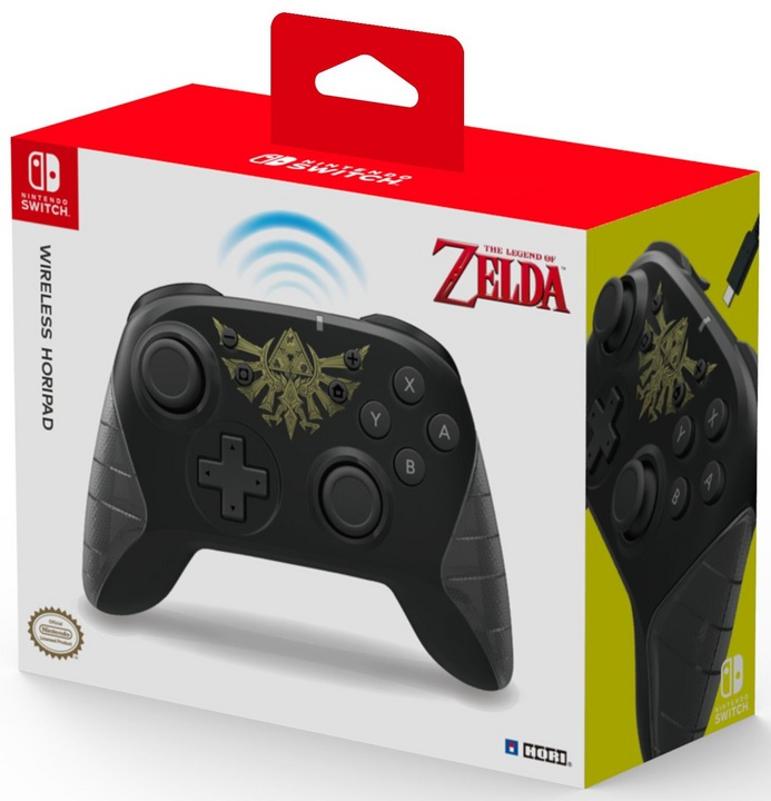 Nintendo Switch - Wireless Horipad Controller - Zelda [NSW]