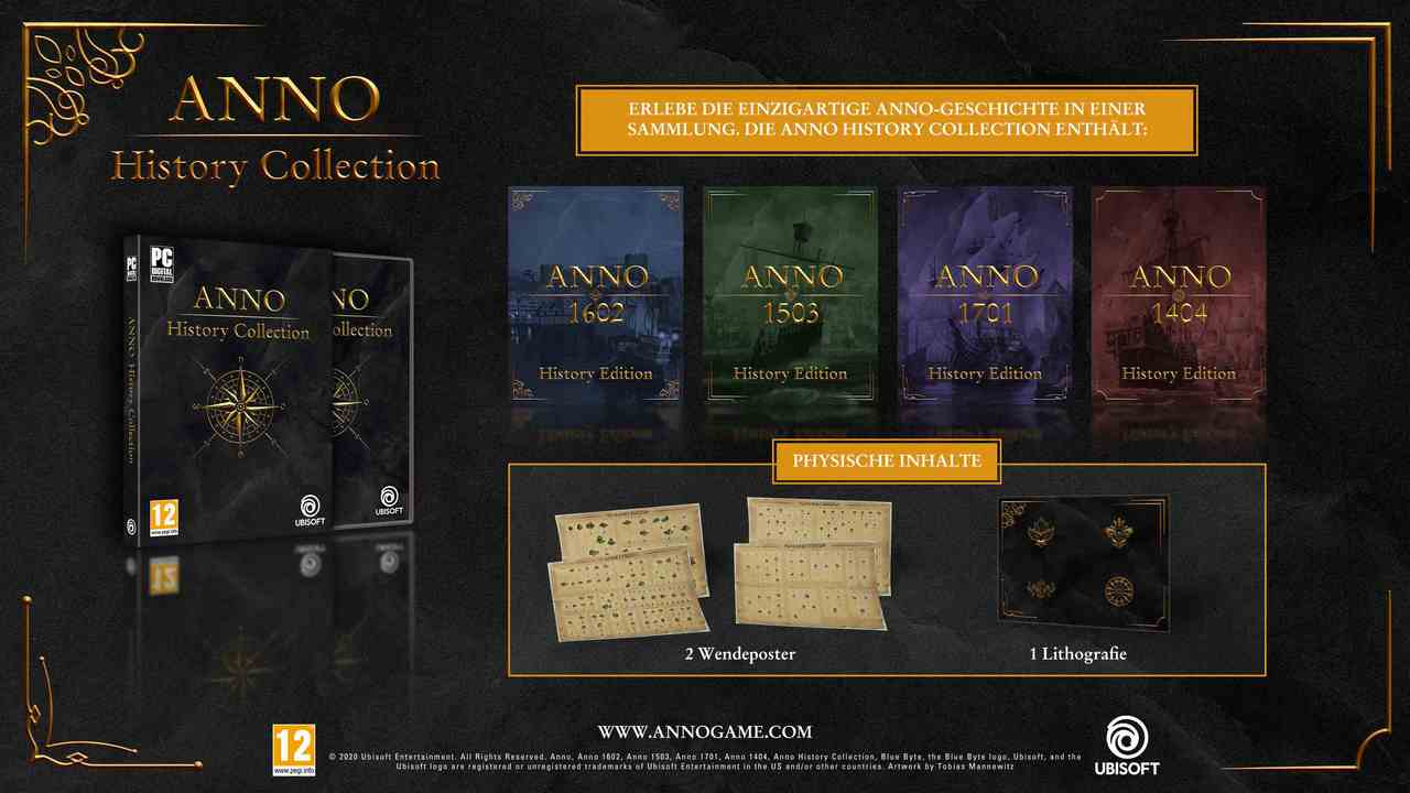 Anno History Collection [DVD] [PC] (D)