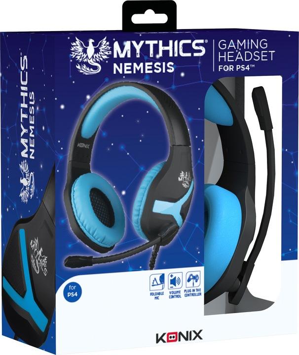 KONIX - Mythics Gaming Headset NEMESIS [PS4/PS5]