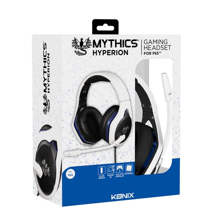 KONIX - Mythics Gaming Headset HYPERION [PS5]