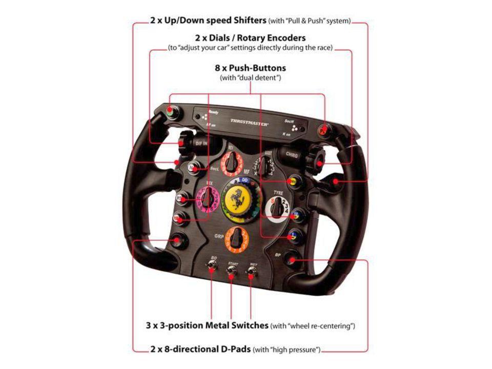Thrustmaster - Ferrari F1 Wheel [Add-On]