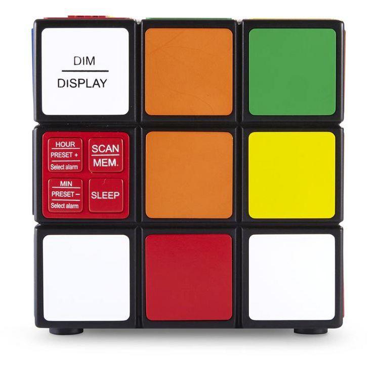 Bigben - Radiowecker RR80 - Rubiks Cube