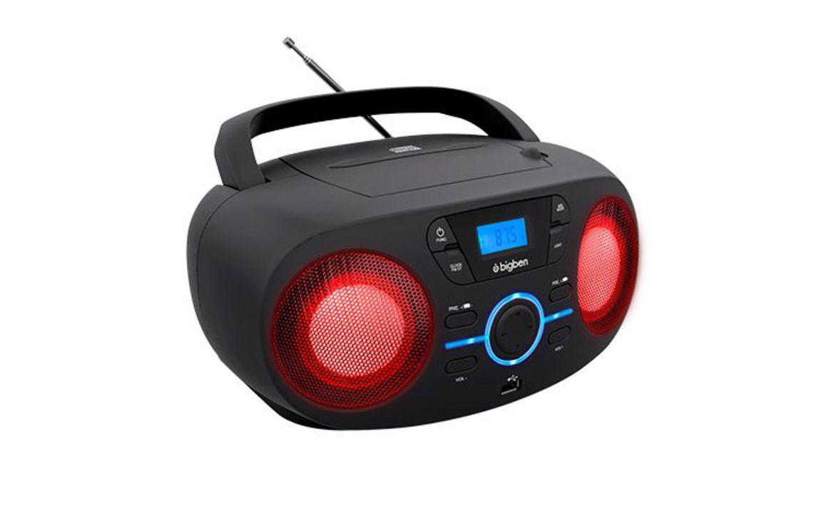 Bigben - Tragbares CD/Radio CD61 USB