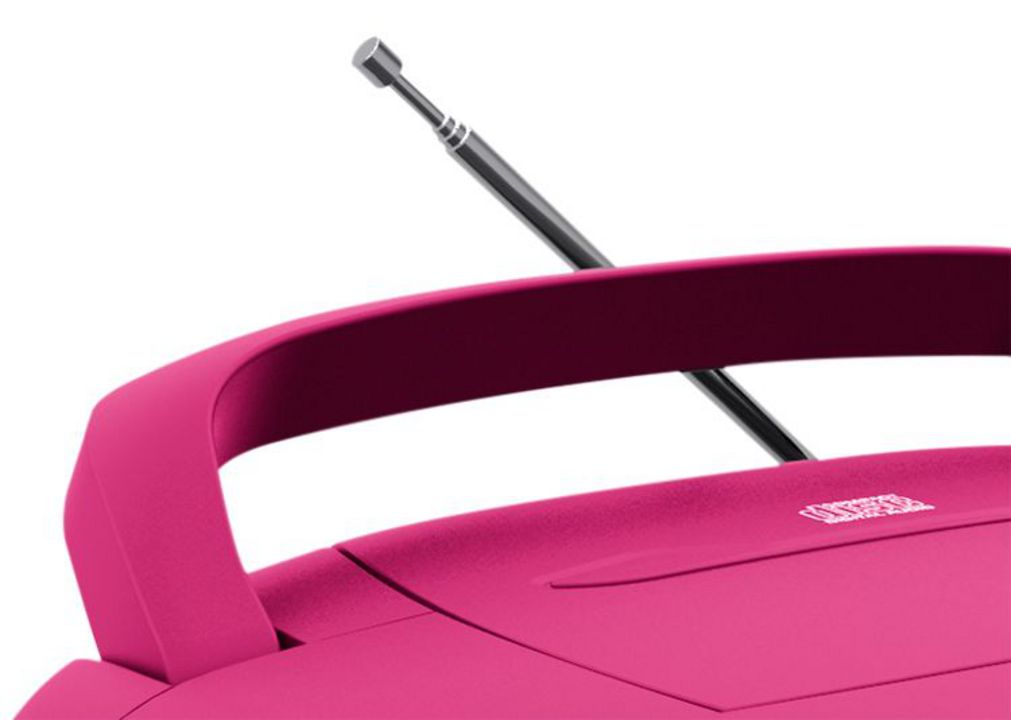 Tragbares CD/Radio CD61 USB - pink