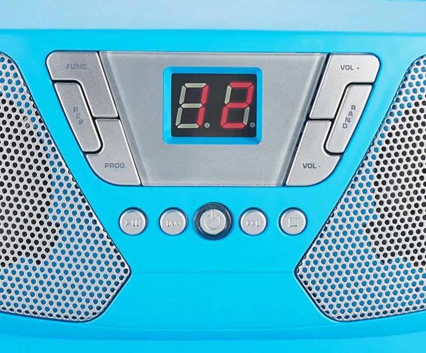 Bigben - Portable CD/Radio CD60 Kids - blue