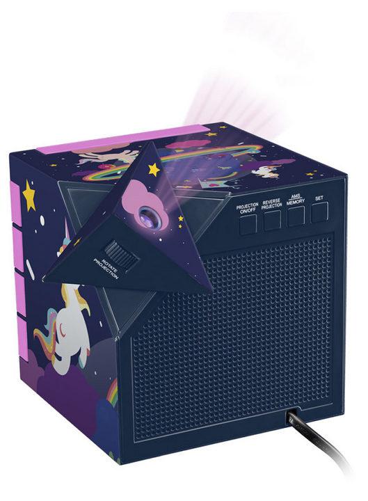 Bigben - Radiowecker RR70 - Unicorn [incl. projector]