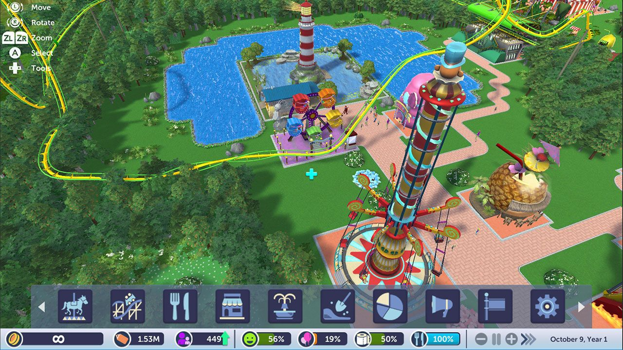 Rollercoaster Tycoon Adventures [NSW] (D/F)