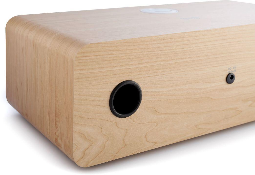 Micro-Kompaktanlage MIC201IDABBT - white/wood