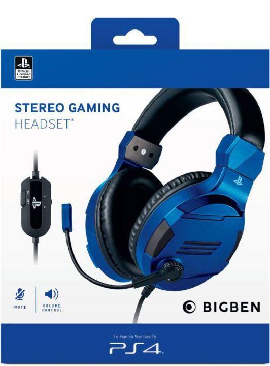 Stereo Headset V3 - blue [PS4]