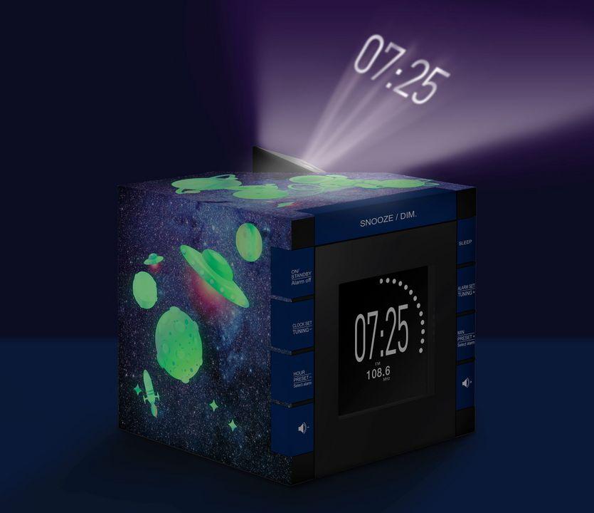 Bigben - Radiowecker RR70 - Galaxy [incl. projector]