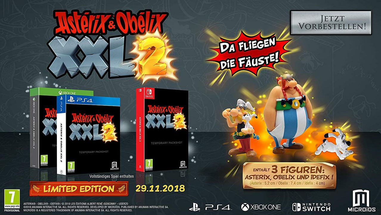 Asterix & Obelix XXL2 - Limited Edition [NSW] (D)