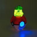 Bigben - Pokémon - Digitaler Radiowecker liegender Bisasam [LED-Lampe]