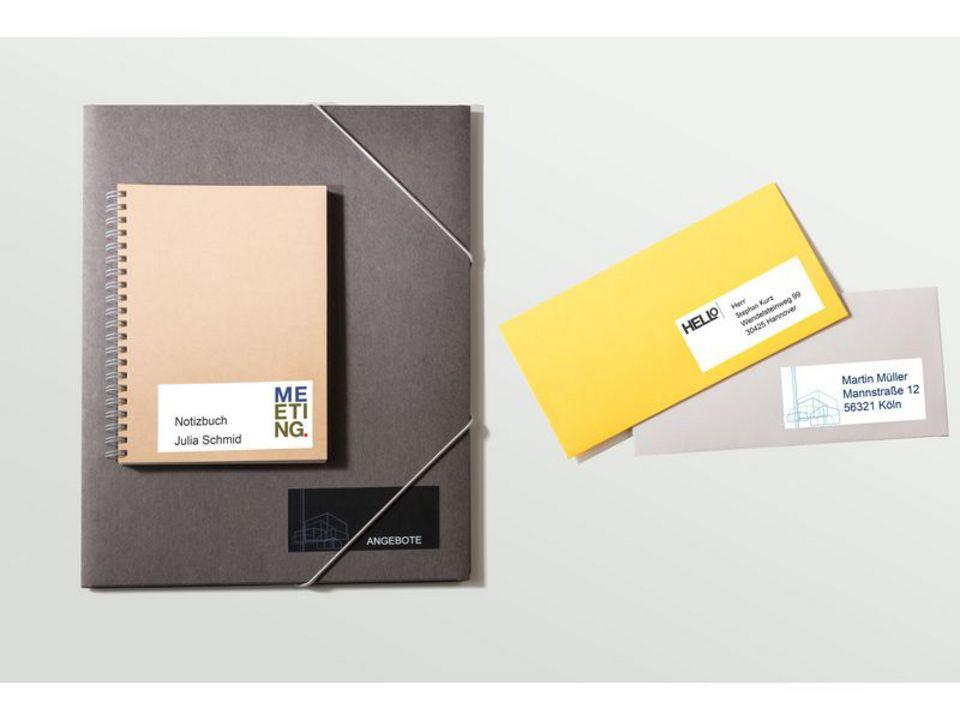 1500 Universal-Etiketten permanent [70x50.8 mm]