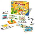 Ravensburger 24955 - Wort für Wort, Lernspiel, Legespiel
