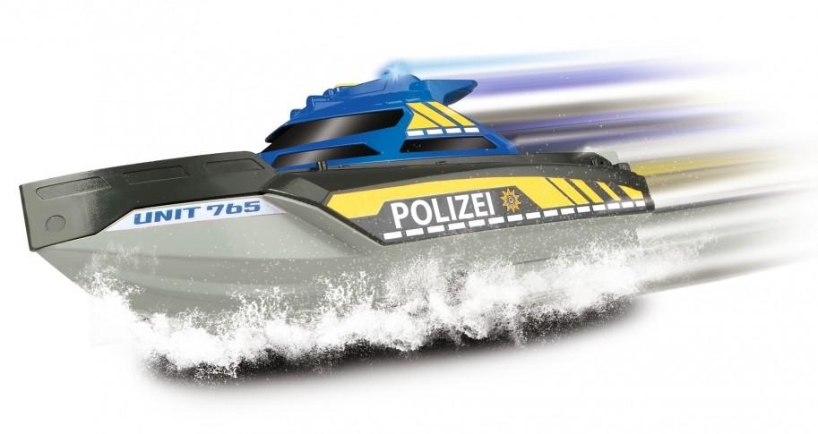 Dickie Toys 203714010 - SOS Series, Special Forces Patrol, Polizeiboot mit Fu...