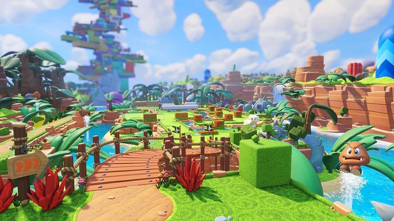 Mario & Rabbids Kingdom Battle [NSW] (D)
