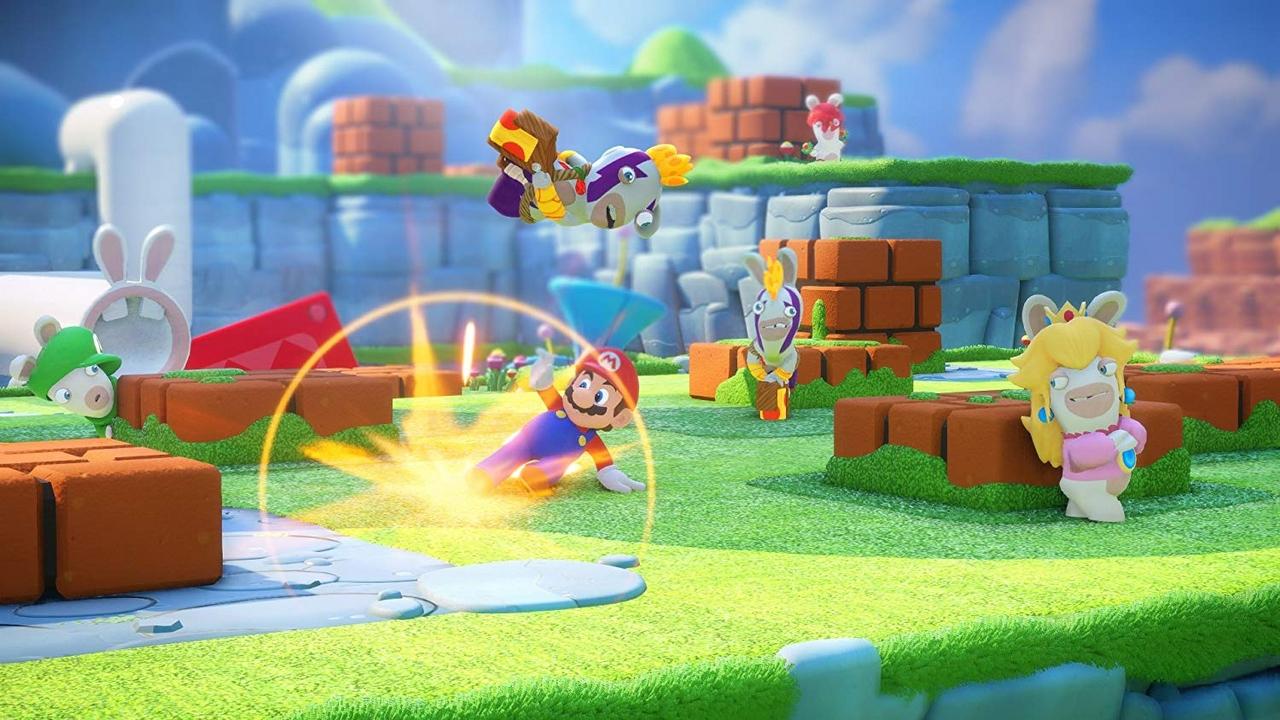 Mario + Rabbids Kingdom Battle [NSW] [Code in a Box] (D)