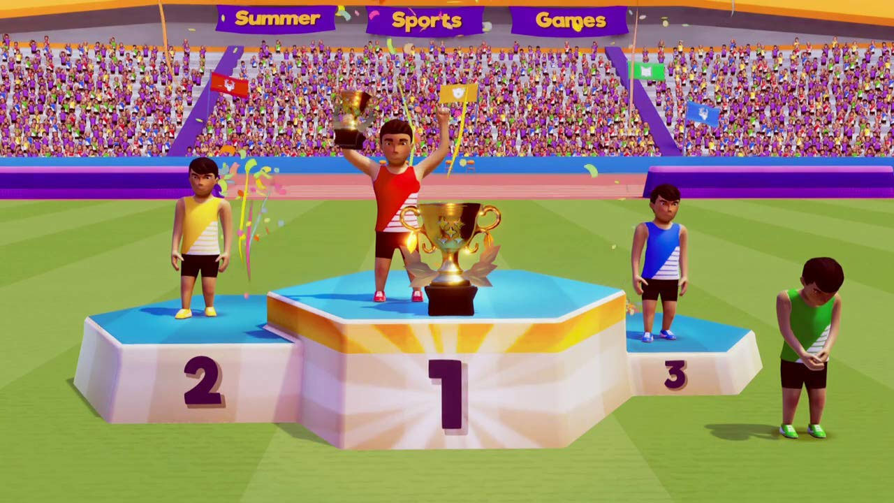 Summer Sports Games [NSW] (D)