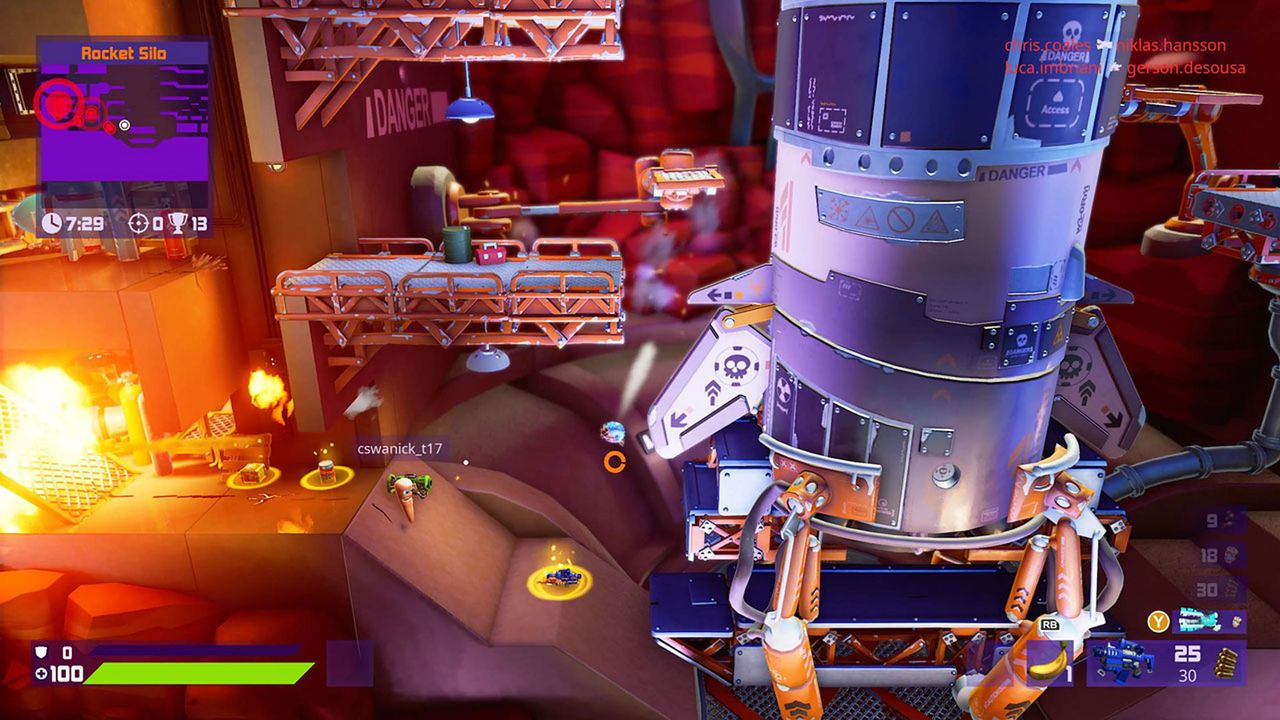 Worms Rumble (Code in a Box) [NSW] (D)