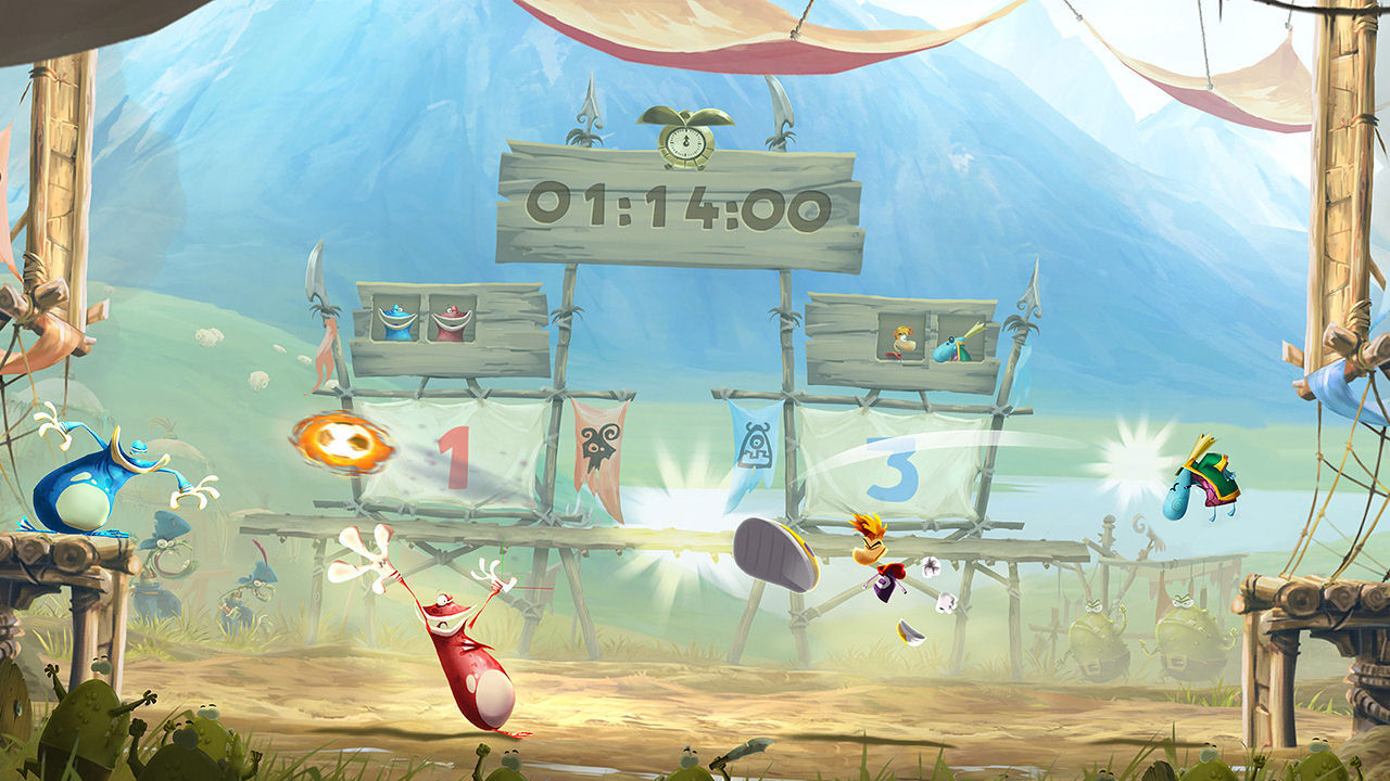 PlayStation Hits: Rayman Legends [PS4] (D)