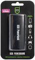Scutes USB Powerbank 5200mAh - black