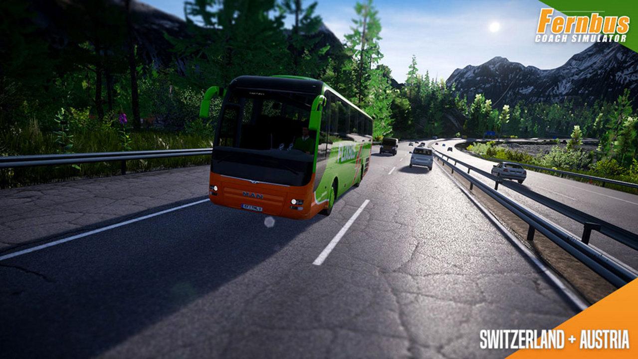 Fernbus Simulator - Austria/Switzerland [Add-On] [DVD] [PC] (D/E)